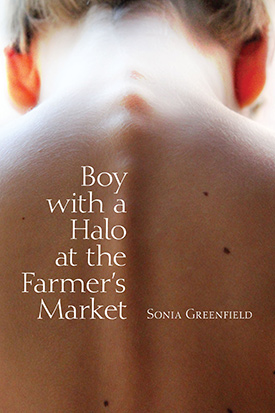 A Boy with a Halo at the Farmer's Market by Sonia Greenfield